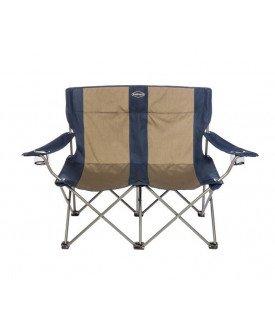 Le fauteuil de camping double pour tous les supporters en binôme