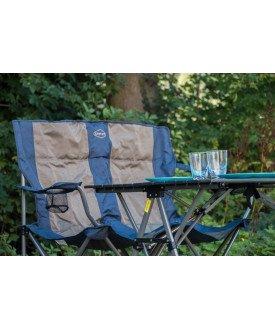 Chaise de camping double