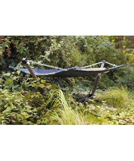 Hamac sur pied avec support pliable meubles de jardin 2r aventure - Hamac de jardin avec support ...