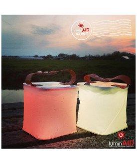 LuminAID lanterne solaire