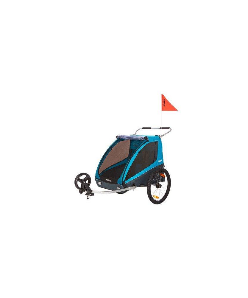 Remorque De Vélos Poussette Urbaine Et Sportive Pour Enfants