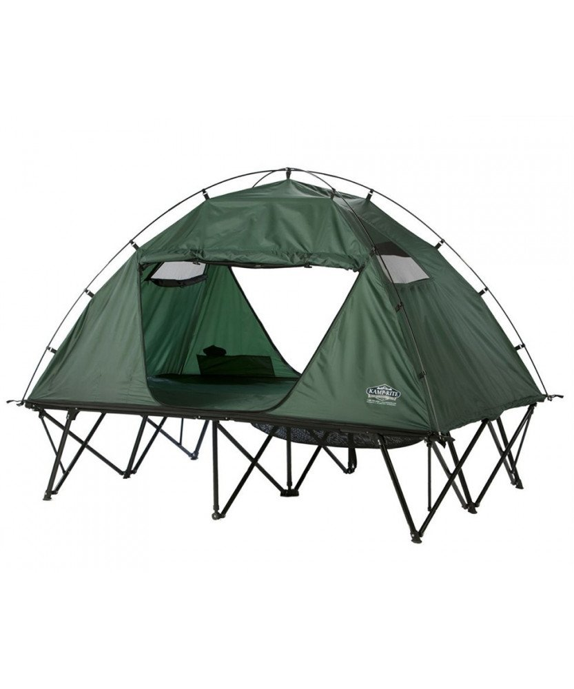 Tente surelevee combo double tente sur pilotis 2raventure for Venture outdoors campsite flooring