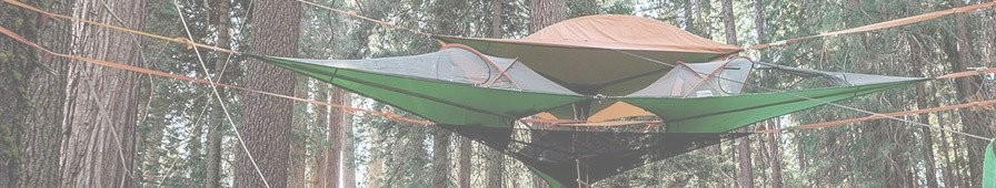 Tente suspendue TRILOGY Vert Flash