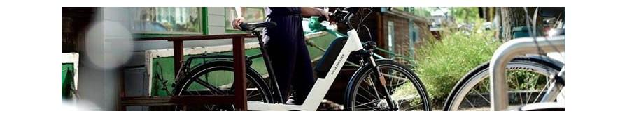 Vélo mixte électrique Riese & Müller, vélo hollandais moderne