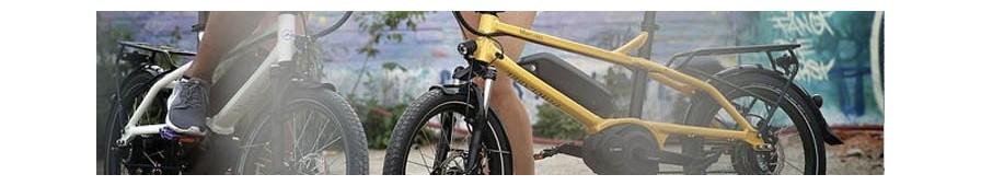 Vélo électrique sémi-pliant Riese & Müller, gamme Tinker, polyvalant