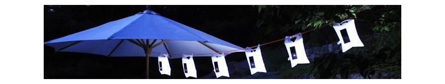 Lampes solaires étanches, légères, gonflables: LuminAID, 2R Aventure