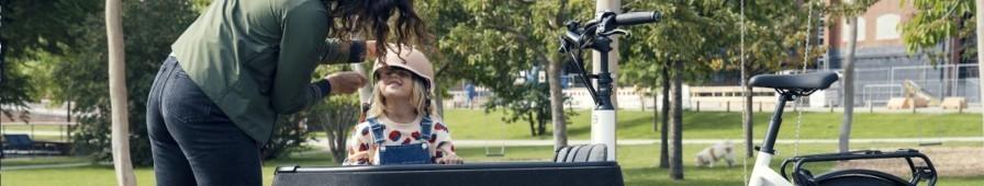 Vélocargo et alternatives pour transporter les enfants à vélo
