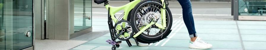 Vélo compact et/ou pliable, petits espaces et intermodalité