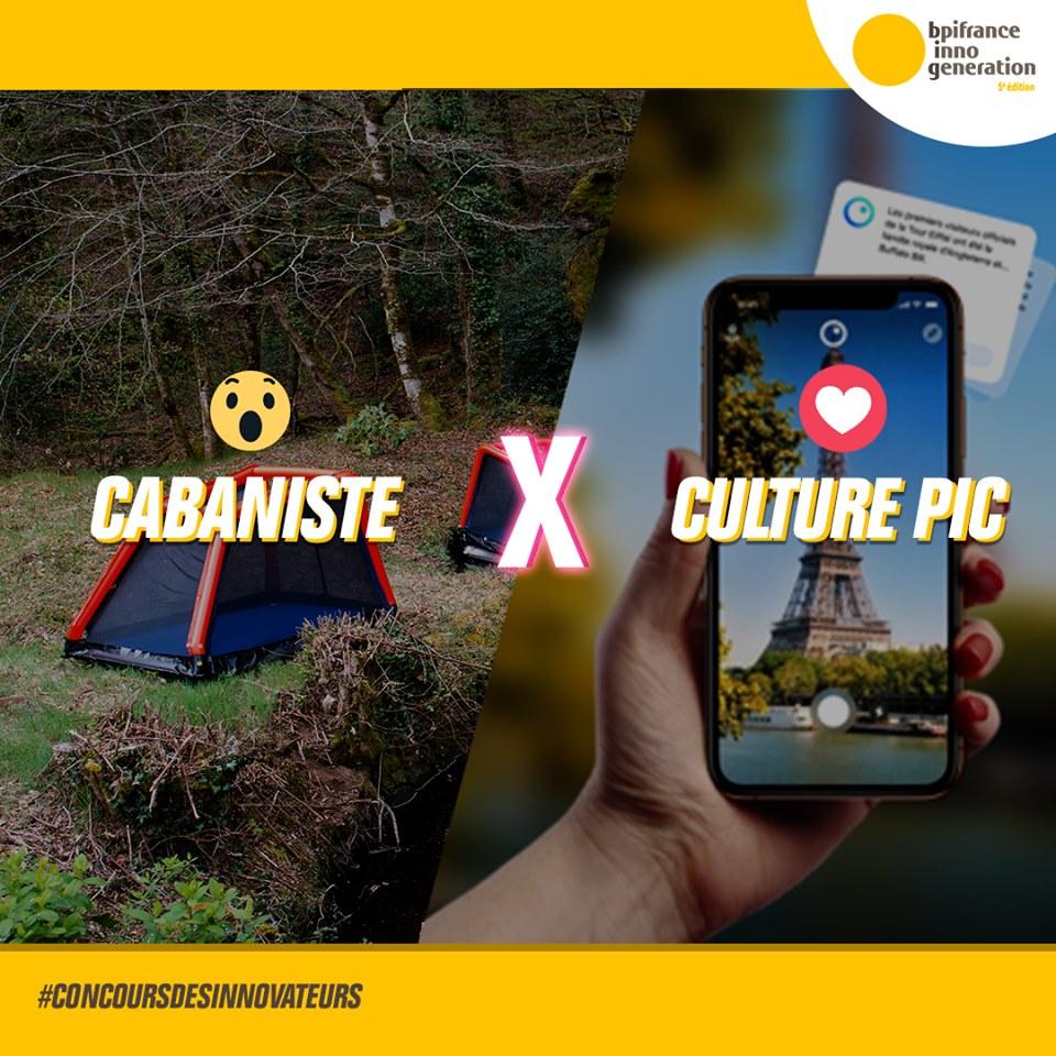Cabaniste finaliste du concours des innovateurs BPI