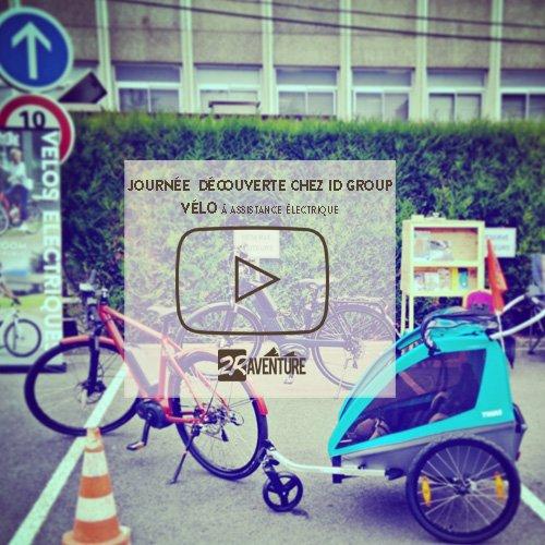 initiation au vélo électrique chez ID GROUP, à Roubaix