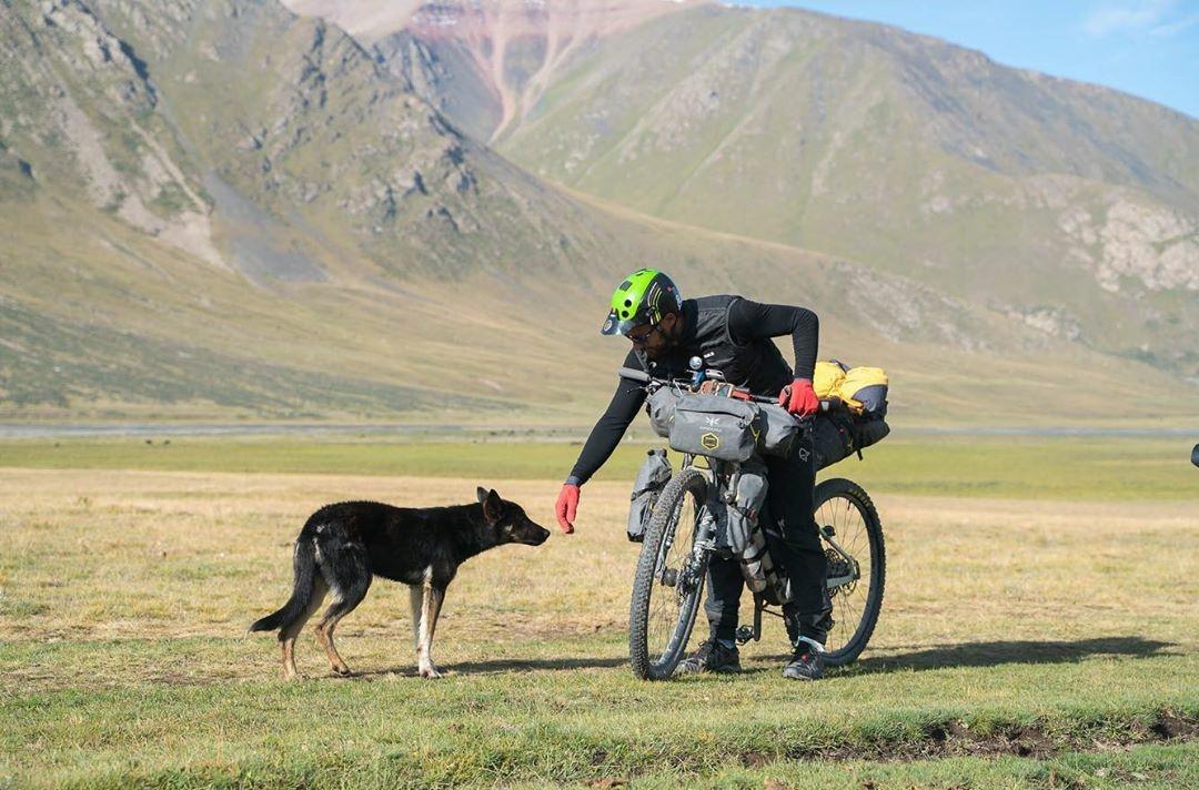 Kirghistan à vélo, sur la route de la soie
