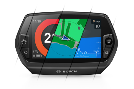 Interface Nyon Bosch GPS vélo