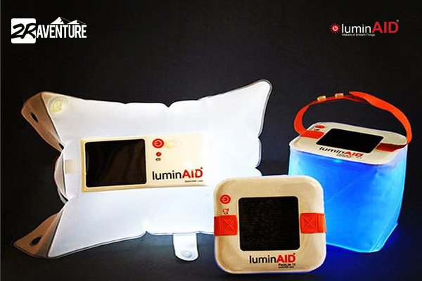 Eclairage solaire  gonflable Luminaid