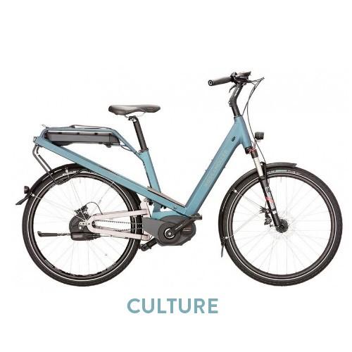 Culture, vélo urbain tout suspendu Riese Und Müller