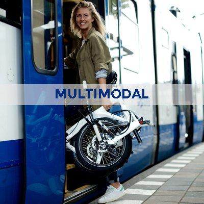 Le vélo tout suspendu pliant multimodal