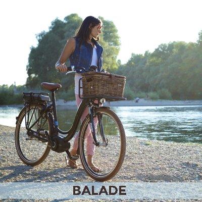 Le vélo électrique pour la balade