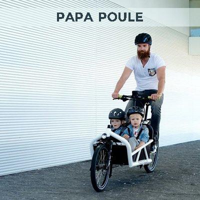 Le vélo cargo pour transporter des enfants