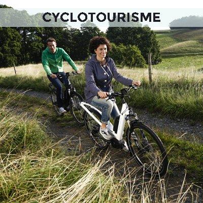 Le vélo électrique pour le cyclotourisme