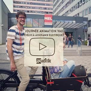 semaine de la mobilité et découverte du vélo électrique à la Métropole Européene de Lille