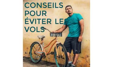 Parer le vol de vélo - les bons conseils