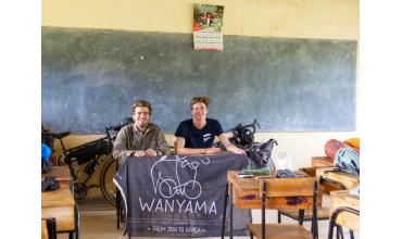 Wanyama, l'aventure à vélo au temps du COVID