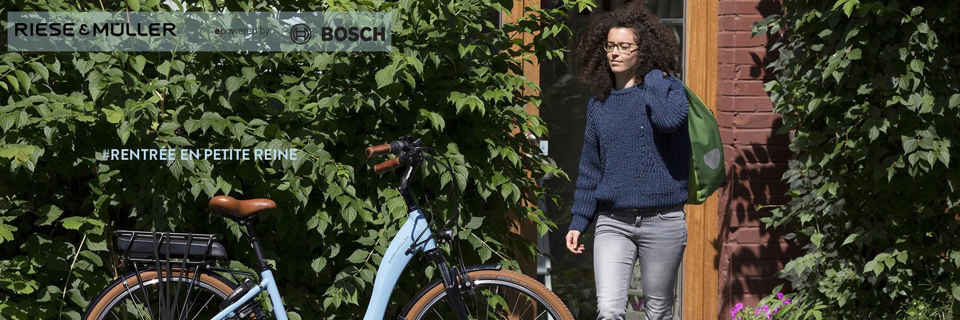 Une rentrée boostée en vélo électrique