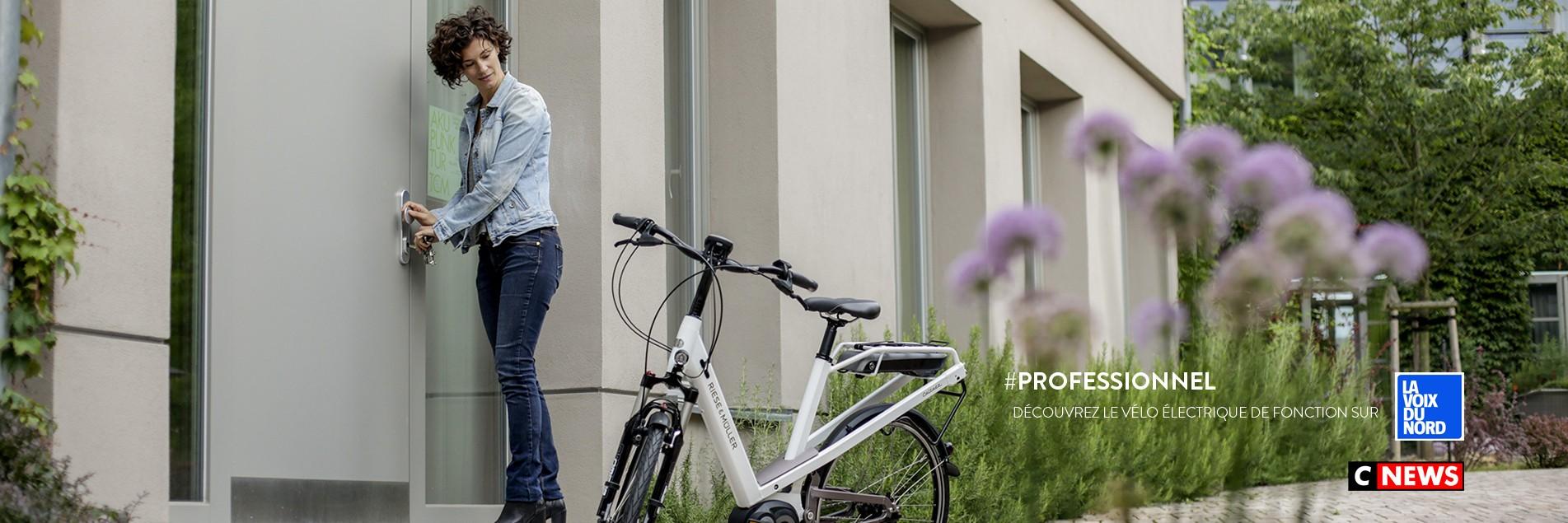 Le vélo électrique de fonction